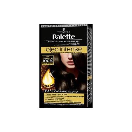 Testanera - Palette Oleo Intense - Permanent Hair Colour With Oils 2-10 Dark Brown