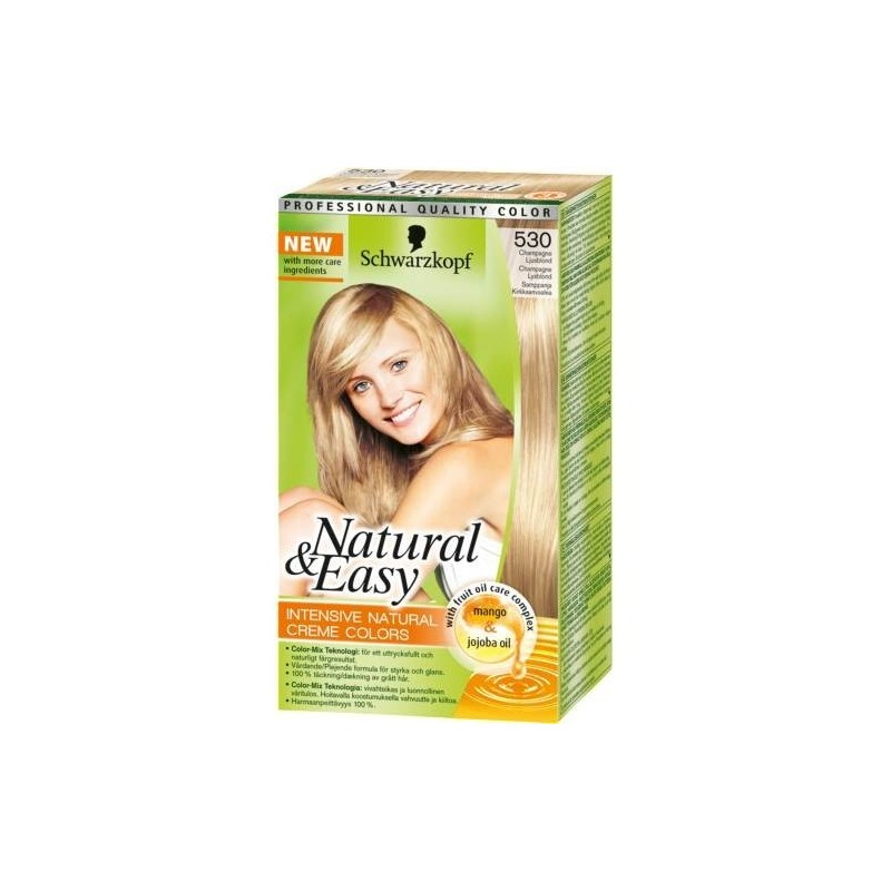 Testanera - Natural & Easy Intensive Natural Creme Colors N 530 Champagne Blond