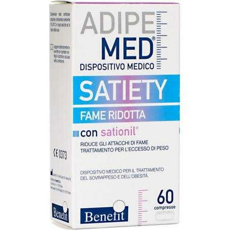 BENEFIT - Supplement Adipemed Satiety 60 Tablets
