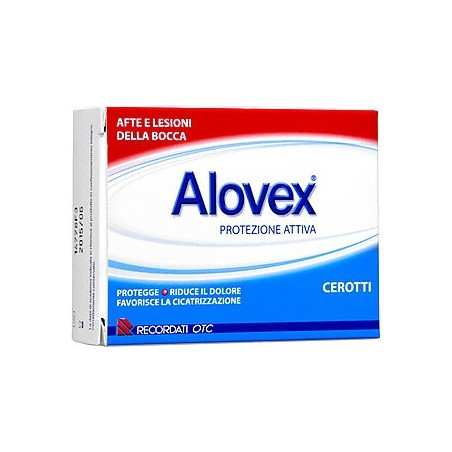 RECORDATI - Alovex Active Protection For Mouth Ulcers And Lesions 15 Patches