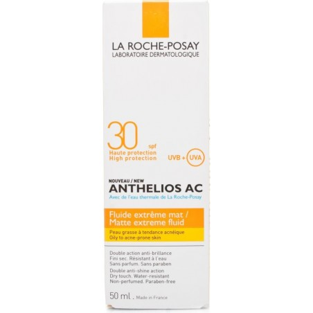 LA ROCHE POSAY - Anthelios Ac Fluid Extreme Spf 30 For Sensitive Skin 50 ml