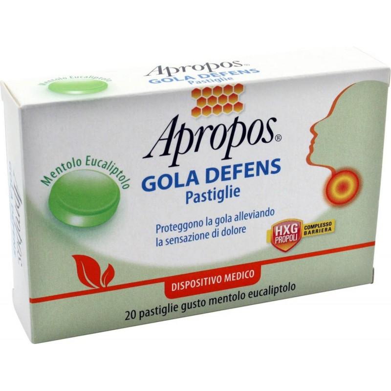 APROPOS - Gola Defens Menthol Eucalyptus Taste 20 Tablets
