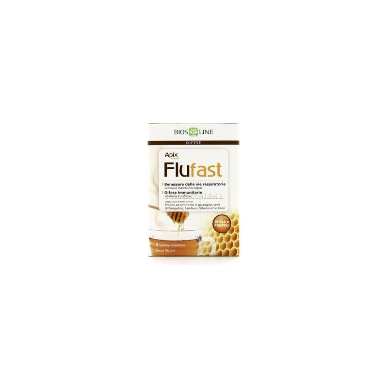 BIOS LINE - Supplement Apix Flufast Propoli And Honey 9 Sachets