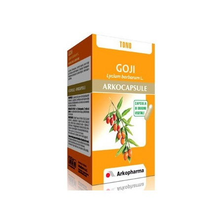 ARKOPHARMA - Supplement ArkoCapsules Goji 45 Capsules