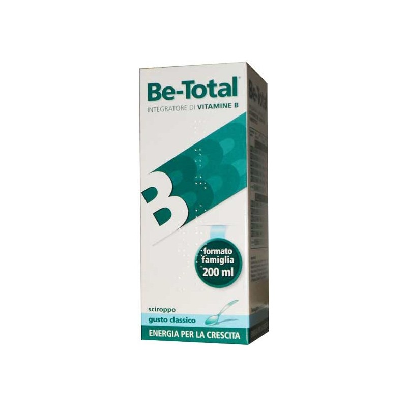 Be-total - Supplement Plus Syrup Vitamins B Classic Flavour 200 ml