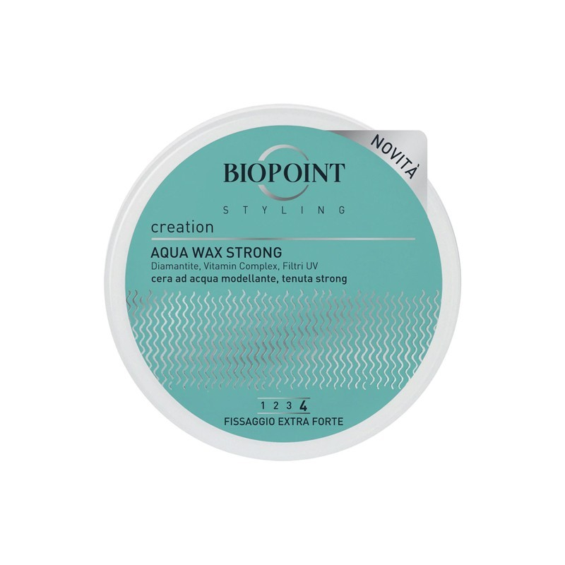 BIOPOINT - aqua wax strong - hair wax 100 ml