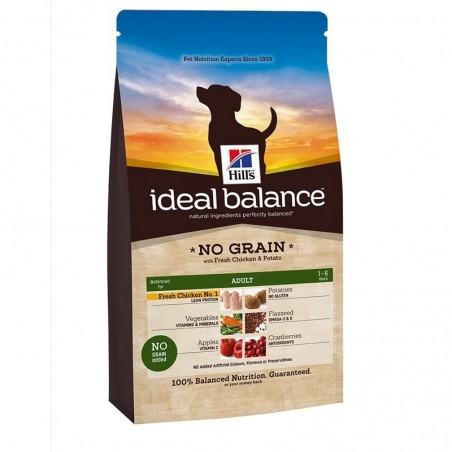 Hill S - science plan canine - food for adult dogs without cereals - chicken 2 kg