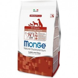 all breeds puppy and junior - dry dog food - lamb and rice - 2.5 kg