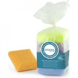 Delicate In Bag- Sponge Square Extra Set Of 4 Pieces