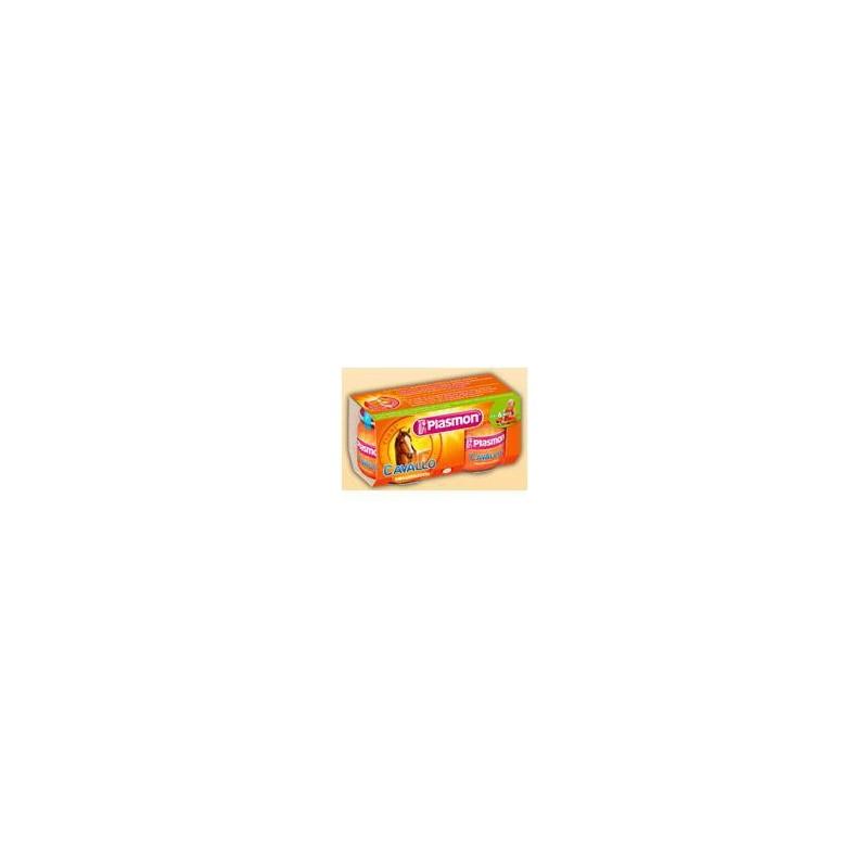 Plasmon - Horse Meal Puree (2X80Gr)
