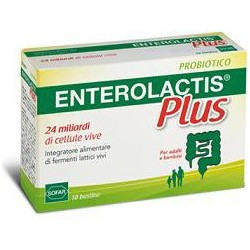 Supplement Enterolactis Plus Powder 10 Sachets