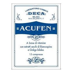 Supplement Acufen 15 Tablets