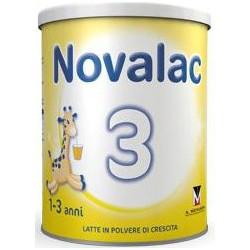 Milk Growth Children Powder Vanilla Shown 1-3 Years Novolac 3 800 Gr