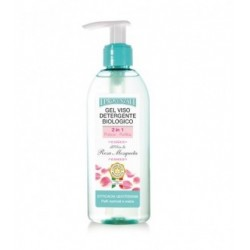 2in1 organic cleansing face gel with musk rose oil - 150 ml