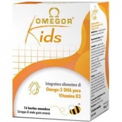 Supplement Omegor Kids For Children Psycho Body Tonic 16 Envelopes