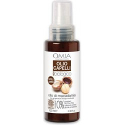 organic hair oil with macadamia oil - 100 ml