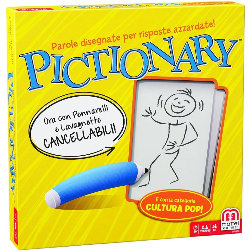 MATTEL - pictionary board game